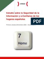 Estudio sobre la seguridad de la información y e-confianza de los hogares españoles