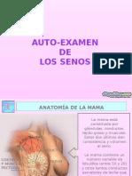 Autoexamen De Senos .pps