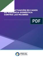 Guía de Actuación en Casos de Violencia Doméstica Contra Las Mujeres