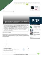 Facilmente Piscar Seu Telefone HTC Flasher Android - O Android Grátis