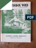 Orthodox Word 1968 Nov Dec