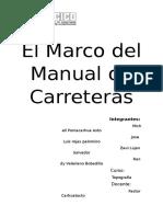 El Marco Del Manual de Carreteras (1)