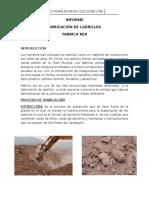 Tecnologia de Materiales - Proceso de Fabricacion de Ladrillos Rex
