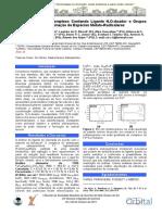 Caracterização de Complexo Contendo Ligante N,O-doador e Grupos que Estabilizam a Formação de Espécies Metalo-Radicalares