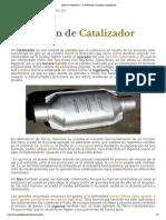 ¿Qué es Catalizador_ - Su Definición, Concepto y Significado