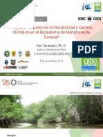 IMPACTO DE VARIABILIDAD Y CAMBIO CLIMATICO DE ECOSISTEMAS DE MANGLARES DE TUMBES.pdf