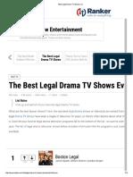 Legal Drama Tv Shows