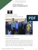 O Justo Viverá Da Fé - Liahona April 2017 - Liahona