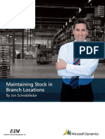 EIM5-Maintaining Stock in Branch Locations
