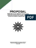 Proposal Perkemahan Besar Tahun 2012 GKHW Kwarda Kab