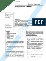 NBR 7211 - Agregado para Concreto .pdf