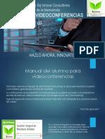 Manual de Videoconferencias [Oficial]