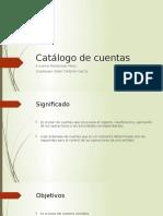 Catálogo de Cuentasmodificado