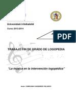 La Música en La Intervención Logopédica