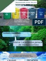 Execesiva Generacion de Residuos Solidos