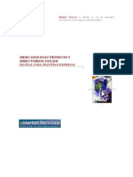 Mercados Electrónicos - Manual para Pymes