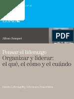 16. Alfons Sauquet. Pensar el Liderazgo. Organizar y liderar el qué, el cómo y el cuándo.pdf