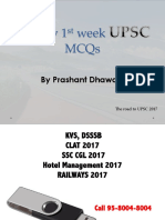 PDF Upsc Mcq