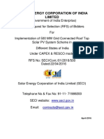Rfs for Rooftop Seci 500 Mw