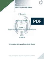 Unidad 2. La Prevencion Del Delito en El Estado Mexicano