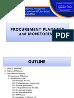 [1] Procurement Planning & Monitoring [MADPAT]