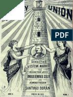 Luz y unión. 1-1909