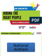 Introduction- Hiring the Right People
