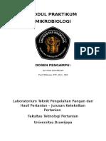 Modul Praktikum Mikrobiologi 2017