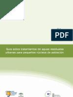 Guía sobre tratamientos de aguas residuales urbanas para pequeños núcleos de población