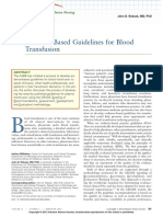 2012 Guides Blood Transfusion