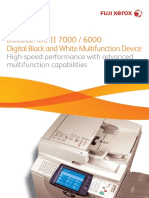 DocuCentre II 7000 6000 Brochure