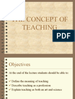 The Concept of Teaching - Sir Omar.ppt