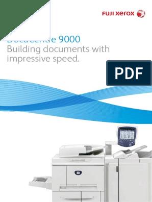 DocuCentre 9000 Brochure   Image Scanner   Email