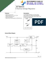 datasheet 78m05 fairchild.pdf
