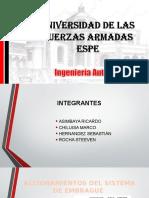 EXPOSICIÓN ACCIONAMIENTOS EMBRAGUE