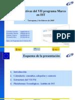 Perspectivas Del VII Programa Marco en IST