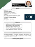 Renzel Resume