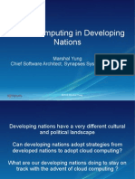 Cloud Computing in Developing Nations