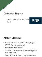 Consumer Surplus2012