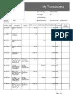 My Transactions PDF