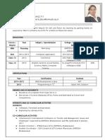 Swati Priya CV