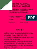 Definiciones - I Ley Termodinamica