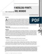Gonzalo Montenegro - Deleuze y Merleau Ponty, La Carne Del Mundo
