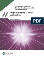 BEPS-OCDE Nota Informativa