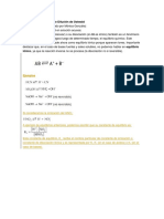 Equilibrio Iónico y Ley de Dilución de Ostwald