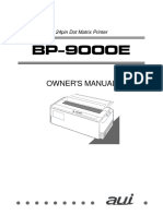 AUI BP-9000E Owner's Manual