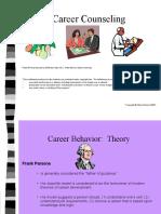 Careerbehavior Theory