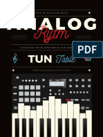 Analog RYTM correct tuning table for machines and filter (PDF)
