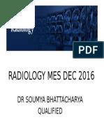 Radiology Mes 2016
