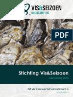 Jaarverslag Vis&Seizoen 2015